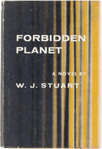 W.J. Stuart Forbidden Planet First Edition (Farrar, Straus, and Cudahy, 1956)
