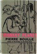 Books:First Editions, Pierre Boulle Monkey Planet (Planet of the Apes) First Edition (Secker and Warburg, 1964)....