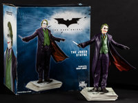 """The Dark Knight (DC Direct, 2008). Very Fine+. Limited Edition Hand Painted Porcelain Statue (10"""" X 6"""" X 10&qu..."""