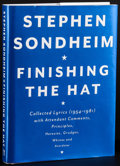 Movie Posters:Musical, Finishing the Hat by Stephen Sondheim & Other Lot (Alfred ...
