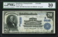 National Bank Notes:Pennsylvania, Stoneboro, PA - $20 1902 Date Back Fr. 642 The First NB Ch. # (E)6638 PMG Very Fine 30.. ...