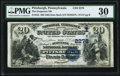 National Bank Notes:Pennsylvania, Pittsburgh, PA - $20 1882 Date Back Fr. 552 The Duquesne NB Ch. # (E)2278 PMG Very Fine 30.. ...