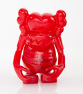 Collectible:Contemporary, KAWS (b. 1974). Skull Kun (Red), 2006. Cast vinyl. 6-1/2 x 5-1/4 x 3-1/4 inches (16.5 x 13.3 x 8.3 cm). Stamped on the u...