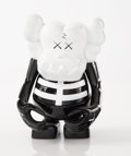 Collectible:Contemporary, KAWS (b. 1974). Skull Kun (Black/White), 2006. Painted cast vinyl. 6-1/2 x 5-1/4 x 3-1/4 inches (16.5 x 13.3 x 8.3 cm). ...