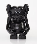 Collectible:Contemporary, KAWS (b. 1974). Skull Kun (Black), 2006. Painted cast vinyl. 6-1/2 x 5-1/4 x 3-1/4 inches (16.5 x 13.3 x 8.3 cm). Editio...