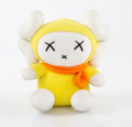 Collectible:Contemporary, KAWS X Mad Hectic. Miffy Doll, 2001. Polyester plush. 7-1/2 x 7-1/2 x 5 inches (19.1 x 19.1 x 12.7 cm). Stamped on tag. ...