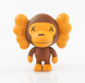 Collectible:Contemporary, KAWS X BAPE. Baby Milo (Brown), 2005. Painted cast vinyl. 3-3/4 x 3-3/4 x 2-1/4 inches (9.5 x 9.5 x 5.7 cm). Stamped to ...