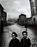Photographs:Gelatin Silver, Louis Stettner (American, 1922-2016). Aubervilliers, 1947. Gelatin silver, printed later. 11-1/2 x 9 inches (29.2 x 22.9...