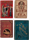 Books:First Editions, Assorted Science-Fiction and Adventure First Editions Group of 11 (Various, 1870s-1900s).... (Total: 11 Items)