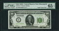 Small Size:Federal Reserve Notes, Fr. 2151-I $100 1928A Light Green Seal Federal Reserve Note. PMG Gem Uncirculated 65 EPQ.. ...