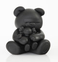 Collectible:Contemporary, KAWS X Jun Takahashi. Undercover Bear Companion (Black), 2009. Cast vinyl. 6 x 5 x 4-1/4 inches (15.2 x 12.7 x 10.8 cm)...