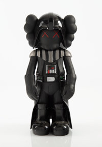 KAWS X Lucas Films Darth Vader, 2007 Painted cast vinyl 9-3/4 x 4-1/2 x 3-1/2 inches (24.8 x 11.4