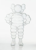 Collectible:Contemporary, KAWS (b. 1974). Chum (Clear), 2002. Cast resin. 12-5/8 x 8-1/4 x 5 inches (32.1 x 21 x 12.7 cm). Ed. 173/1000. Stamped o...