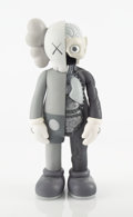 Collectible:Contemporary, KAWS (b. 1974). Dissected Companion (Grey), 2006. Painted cast vinyl. 14-3/4 x 6-1/2 x 3-1/2 inches (37.5 x 16.5 x 8.9 c...