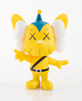 Collectible:Contemporary, KAWS (b. 1974). JPP (Yellow), 2008. Painted cast vinyl. 7-3/4 x 5 x 3 inches (19.7 x 12.7 x 7.6 cm). Stamped on the unde...
