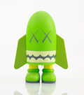 Collectible:Contemporary, KAWS (b. 1974). Blitz (Green), 2004. Painted cast vinyl. 5-1/2 x 4-1/4 x 3-3/4 inches (14 x 10.8 x 9.5 cm). Stamped on t...