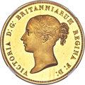 """Great Britain, Great Britain: Victoria gold Proof """"Una and the Lion"""" 5 Pounds 1839 PR61 Ultra Cameo NGC,..."""