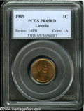 Proof Lincoln Cents: , 1909 1C PR65 Red PCGS....