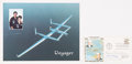 Autographs:Post Cards, 1978 Voyager Crew Multi-Signed First Day Cover (4 Signatures)....
