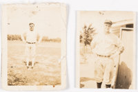 1930's Babe Ruth and Lou Gehrig Candid Photos