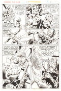 Original Comic Art:Panel Pages, Val Mayerik Howard the Duck #23 Page 6 Original Art (Marvel Comics, 1978)....