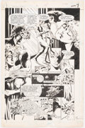 Original Comic Art:Panel Pages, Dan Jurgens and Romeo Tanghal Sun Devils #4 Story Page 6 Original Art (DC, 1984)....