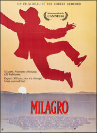 """The Milagro Beanfield War (UIP, 1988). Folded, Very Fine+. French Grande (45.75"""" X 62.5""""). Drama"""
