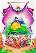 Movie Posters:Animation, Snow White and the Seven Dwarfs & Other Lot (Buena Vista, ...