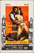 "Movie Posters:Drama, Solomon and Sheba & Other Lot (United Artists, 1959). Folded,Overall: Fine/Very Fine. One Sheets (2) (27"" X 41""). Dr..."