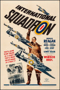 Movie Posters:War, International Squadron (Warner Brothers, 1941). Fine/Very ...