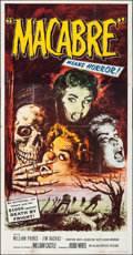 Movie Posters:Horror, Macabre (Allied Artists, 1958). Folded, Fine/Very Fine.