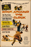 "Movie Posters:Rock and Roll, Rock Around the Clock (Columbia, 1956). Folded, Fine/Very Fine. One Sheet (27"" X 41""). Rock and Roll.. ..."