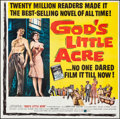 Movie Posters:Drama, God's Little Acre (United Artists, 1957). Folded, Very Fin...
