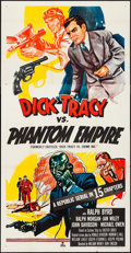 Movie Posters:Serial, Dick Tracy vs. Crime Inc. (Republic, R-1952). Folded, Very...