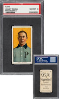 Baseball Cards:Singles (Pre-1930), 1909-11 T206 Cycle 350 Hunky Shaw PSA NM-MT 8 - Pop One, None Higher for Brand! ...