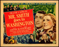 Movie Posters:Drama, Mr. Smith Goes to Washington (Columbia, 1939). Very Fine-....