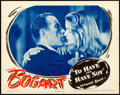 Movie Posters:Film Noir, To Have and Have Not (Warner Brothers, 1944). Very Fine-.