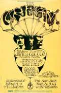 Movie Posters:Rock and Roll, Cream at The Fillmore & Winterland Ballroom (Bill Graham, ...