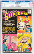 Silver Age (1956-1969):Superhero, Superman #132 (DC, 1959) CGC FN/VF 7.0 Off-white pages....