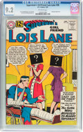 Silver Age (1956-1969):Superhero, Superman's Girlfriend Lois Lane #38 (DC, 1963) CGC NM- 9.2 Off-white pages....