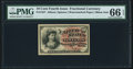 Fractional Currency:Fourth Issue, Fr. 1257 10¢ Fourth Issue PMG Gem Uncirculated 66 EPQ.. ...