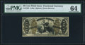 Fractional Currency:Third Issue, Fr. 1358 50¢ Third Issue Justice PMG Choice Uncirculated 64.. ...