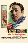 "Movie Posters, On the Waterfront (Columbia, 1954). Very Fine- on Linen. One Sheet (27"" X 41.25"").. ..."