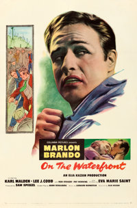 """On the Waterfront (Columbia, 1954). Very Fine- on Linen. One Sheet (27"""" X 41.25"""")"""