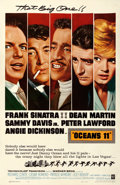Movie Posters:Crime, Ocean's 11 (Warner Brothers, 1960). Fine/Very Fine on Line...