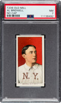 Baseball Cards:Singles (Pre-1930), 1909-11 T206 Old Mill Al Bridwell (No Cap) PSA NM 7 - Pop One, One Higher for Brand. ...