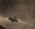 Photographs:Photogravure, Alfred Stieglitz (American, 1864-1946). The Aeroplane , 1910. Photogravure from Camera Work 36, 1910. 5-3/4 x 6-7/8 inch...