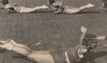 Photographs, Alexander Rodchenko (Russian, 1891-1956). Rhythmic Gymnasts on Red Square, 1936. Gelatin silver, circa 1950s. 4-1/2 x 7-...