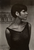 Photographs, Edmund Teske (American, 1911-1996). Portrait of Woman, Olive Hill, Los Angeles, late 1960s. Gelatin silver. 6-1/2 x 4-1/...