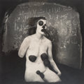 Photographs:Gelatin Silver, Joel-Peter Witkin (American, b. 1939). Collector of Fluids, 1982. Gelatin silver, printed later. 14-3/4 x 14-3/4 inches ...